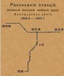 中东铁路图